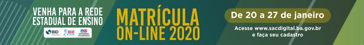 Matrícula Online 2020